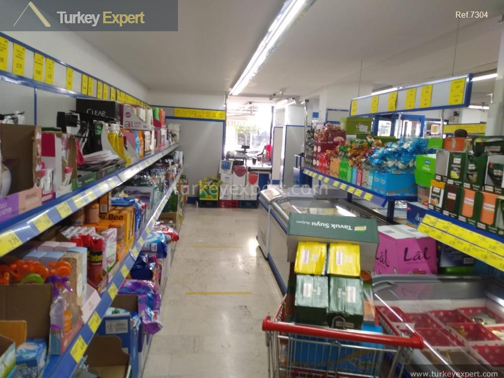 supermarket for sale istanbul with8