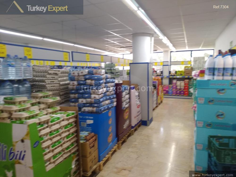 supermarket for sale istanbul with9
