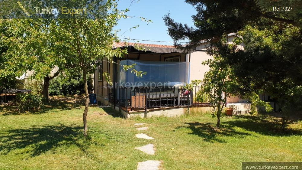 large detached villa with sea18