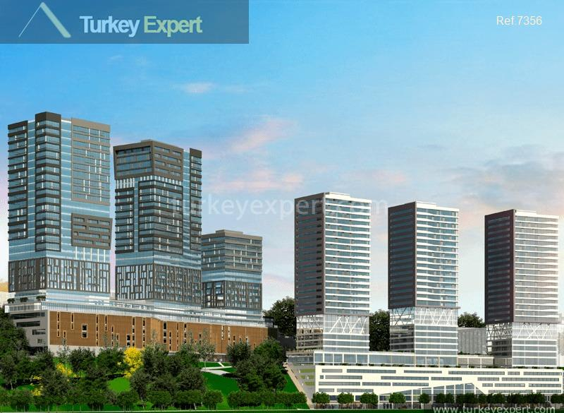 apartments in kadikoy close to10