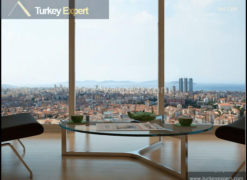 apartments in kadikoy close to15