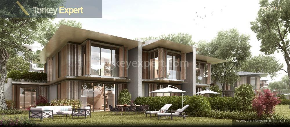 triplex and duplex villas in9
