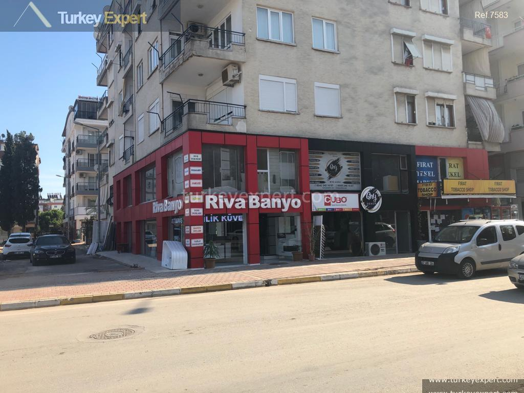 1centrally located shop in antalya2.