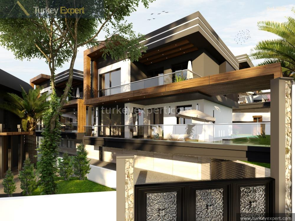 modern villas with private pool10