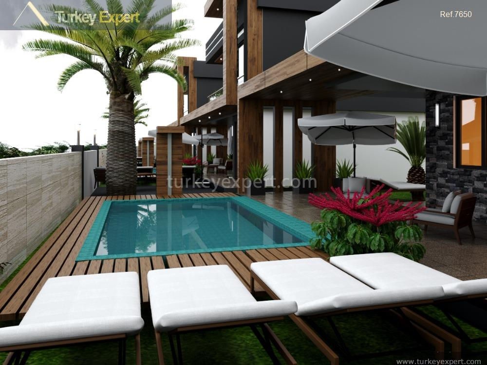 modern villas with private pool20