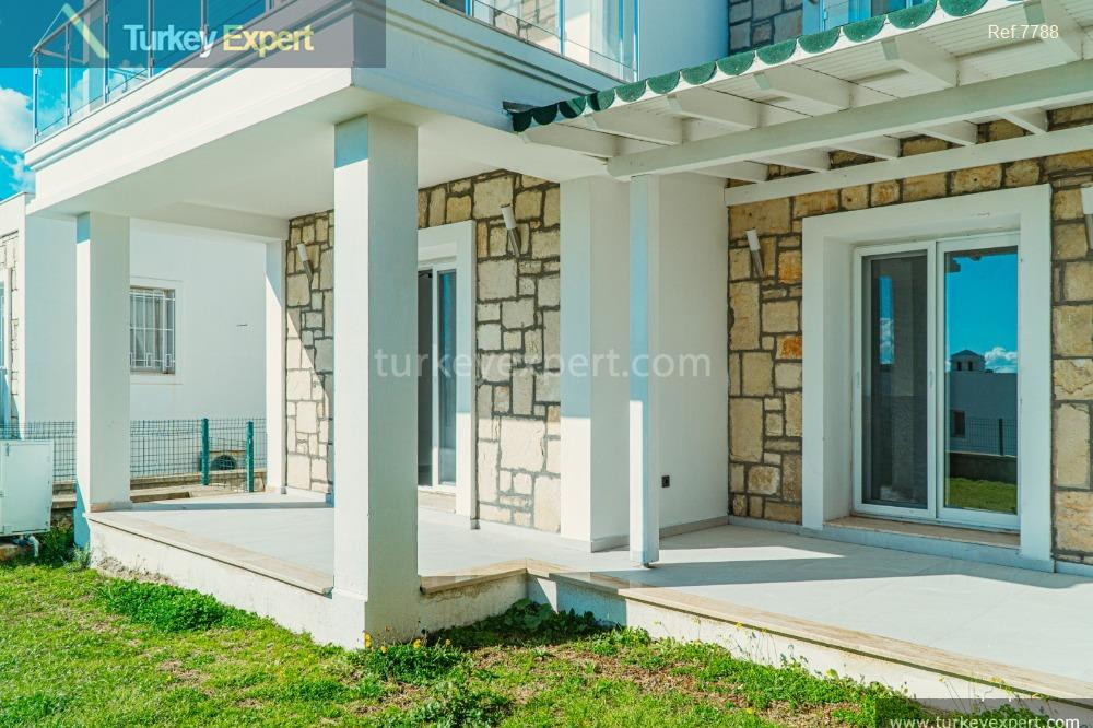 detached villa in bodrum with14