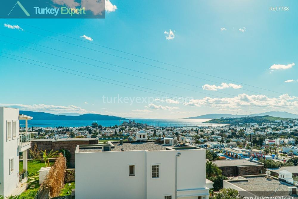 detached villa in bodrum with15