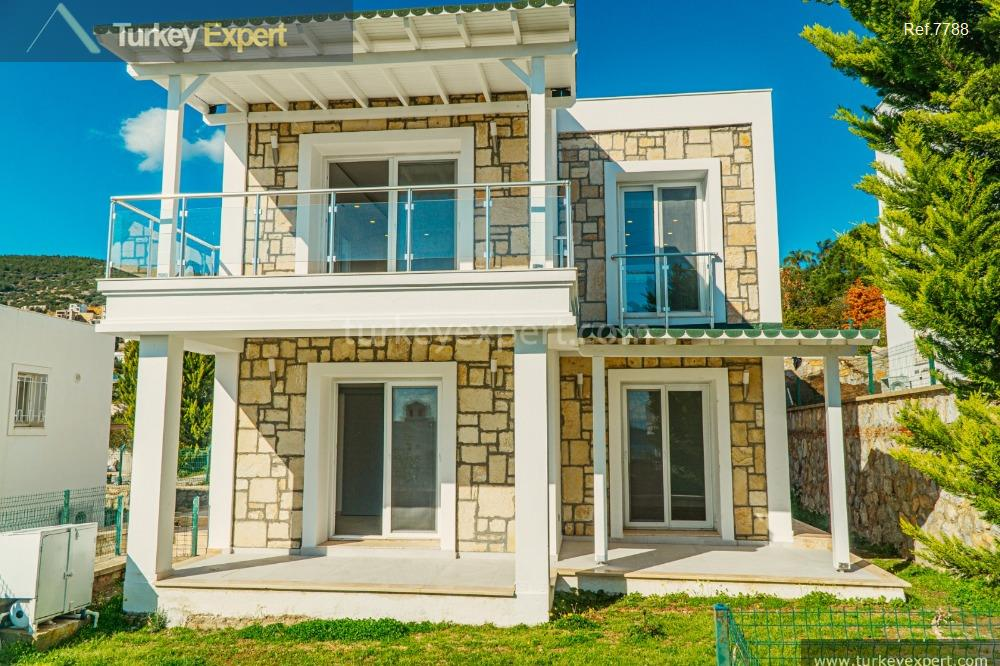 detached villa in bodrum with18