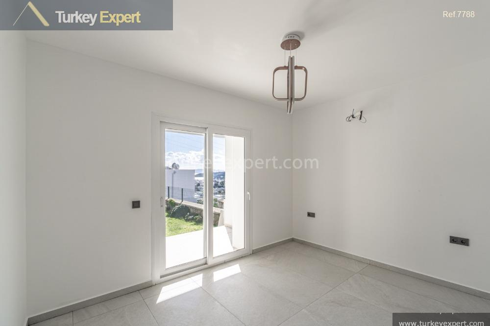 detached villa in bodrum with3