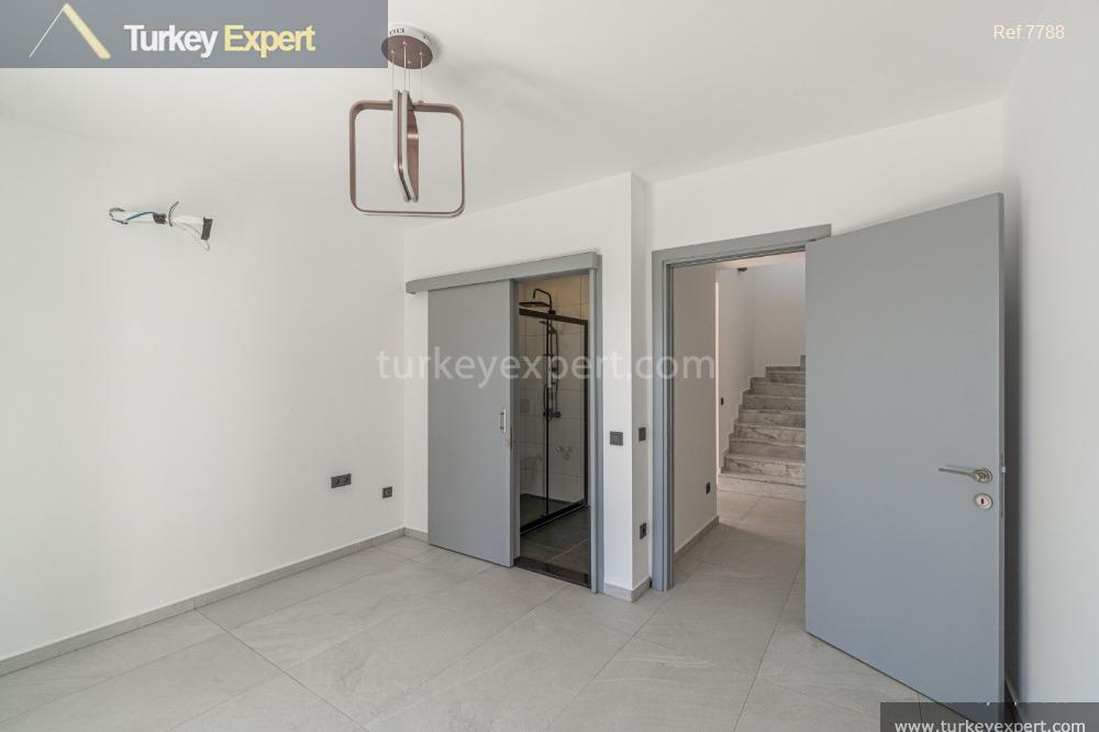 detached villa in bodrum with4
