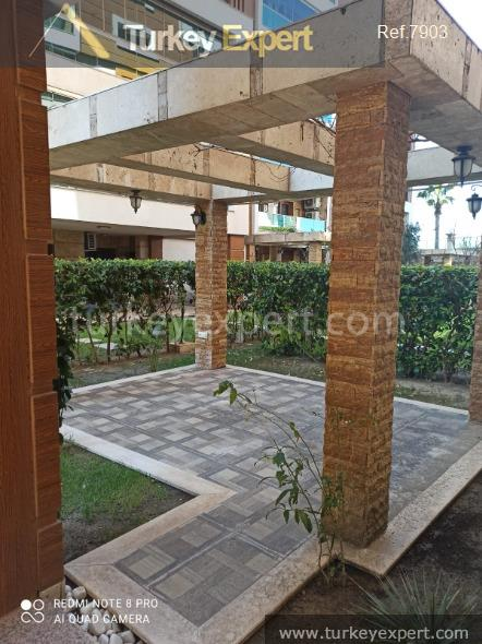 spacious apartment with private garden6