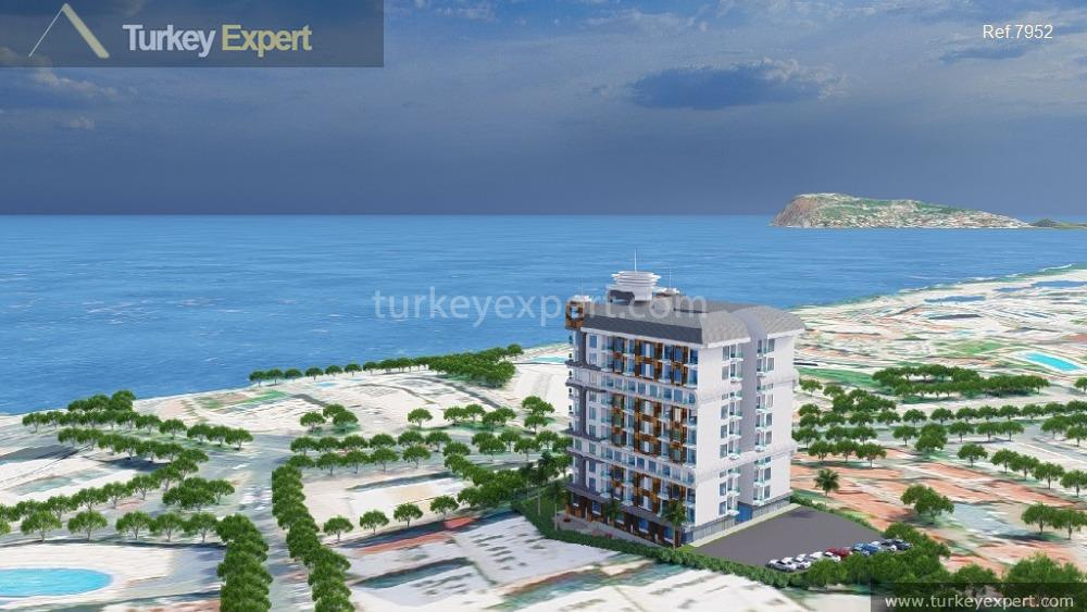 1frontbeach residential project in tosmur1