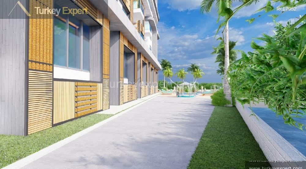 frontbeach residential project in tosmur3