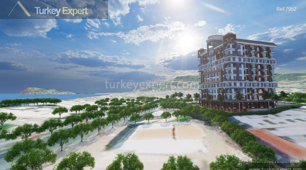 frontbeach residential project in tosmur6