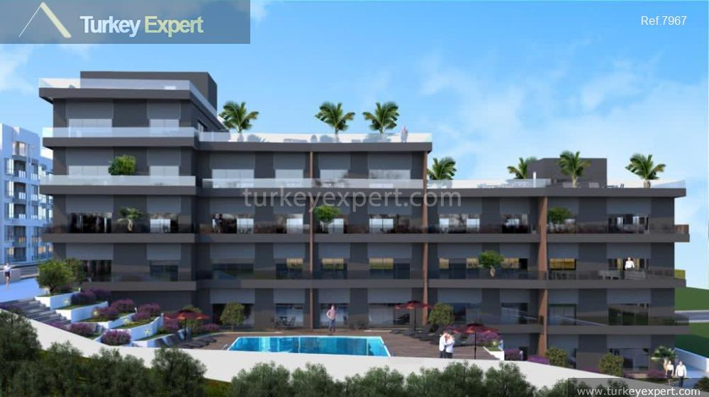 1modern apartment project with sea15