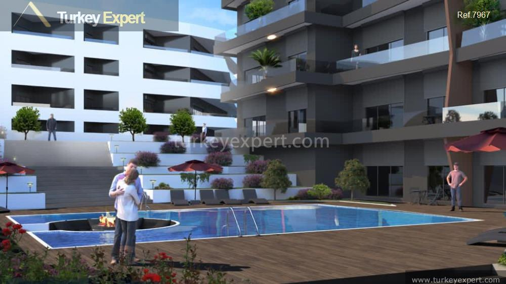 modern apartment project with sea11