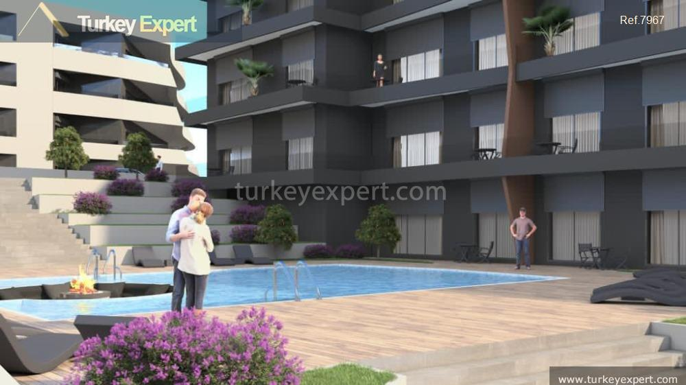 modern apartment project with sea20