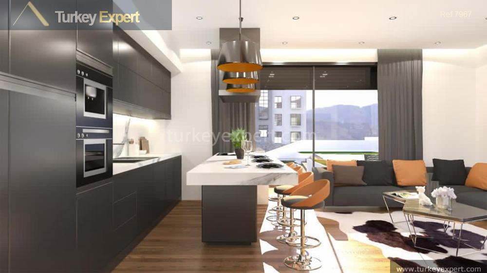 modern apartment project with sea8