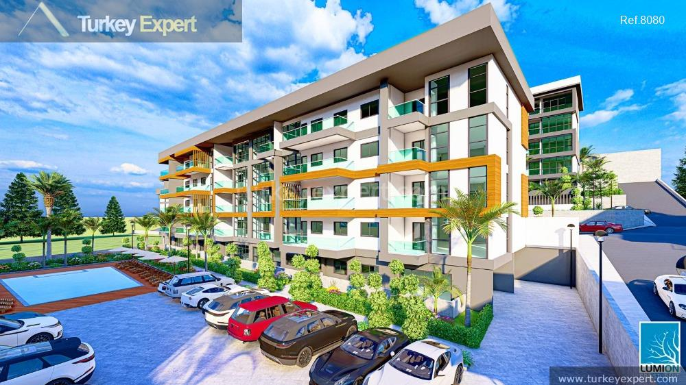 a choice of new residences3