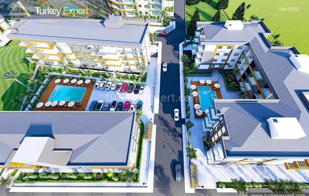 a choice of new residences6