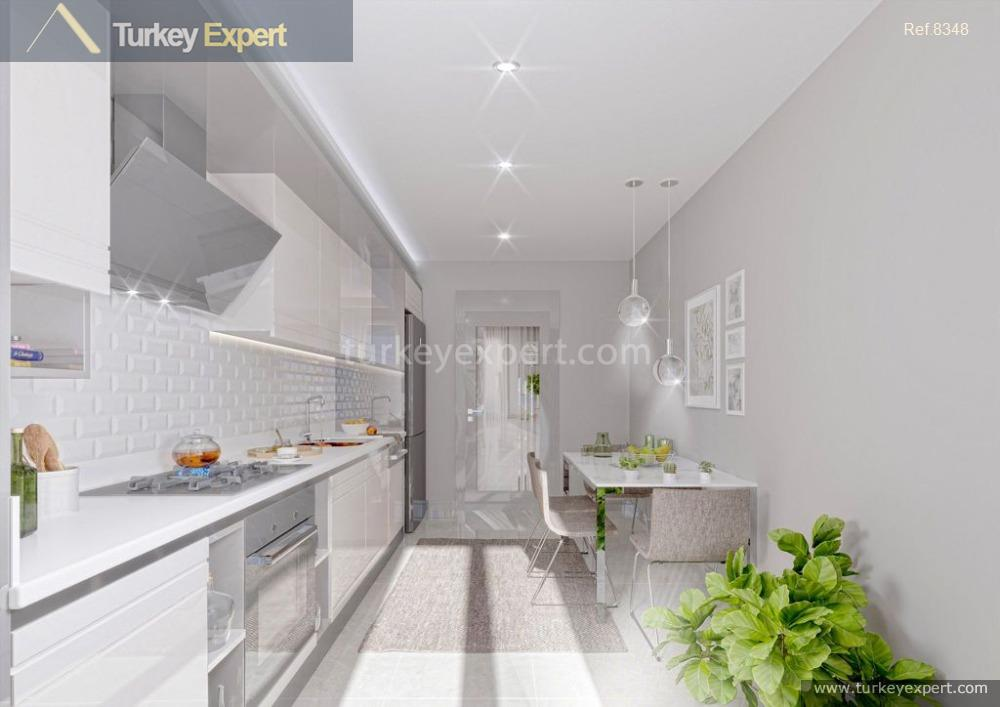 New apartments in Beylikduzu on a residential project with affordable prices