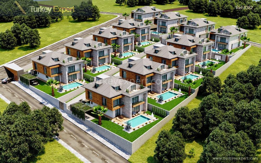 New villas in Beylikduzu close to Istanbul West Marina for sale
