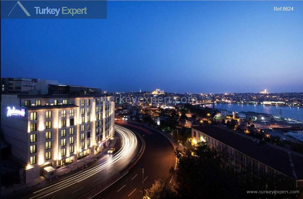 5-star hotel for sale in Istanbul Beyoglu, overlooking the Golden Horn