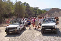 Jeep safari in Kusadasi